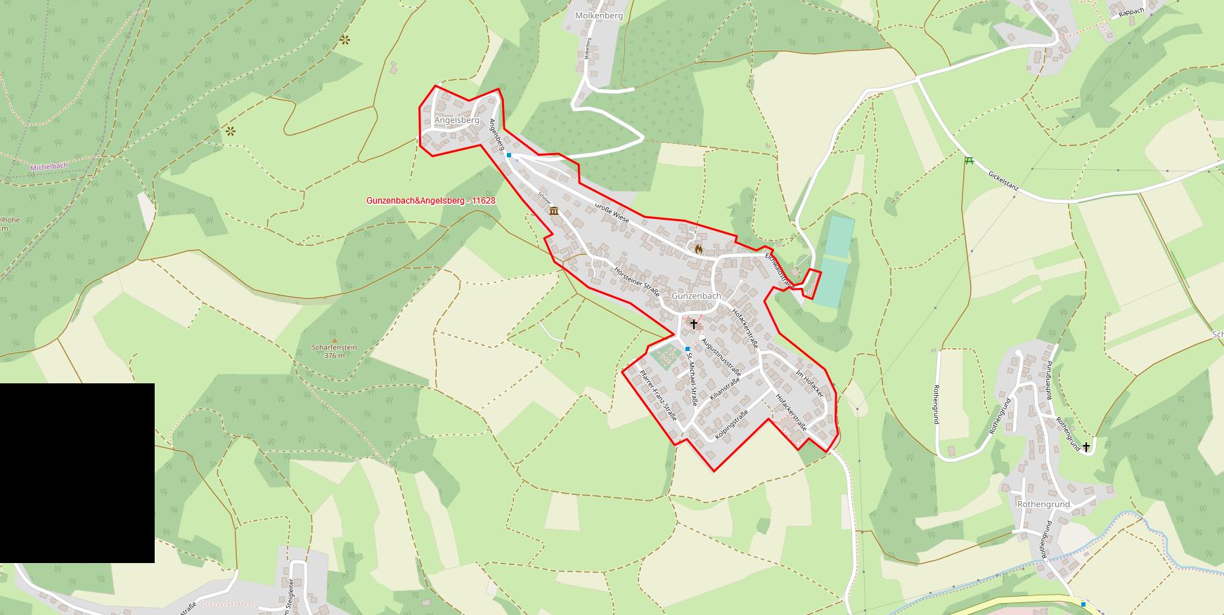 Gunzenbach und Angelsberg Polygon