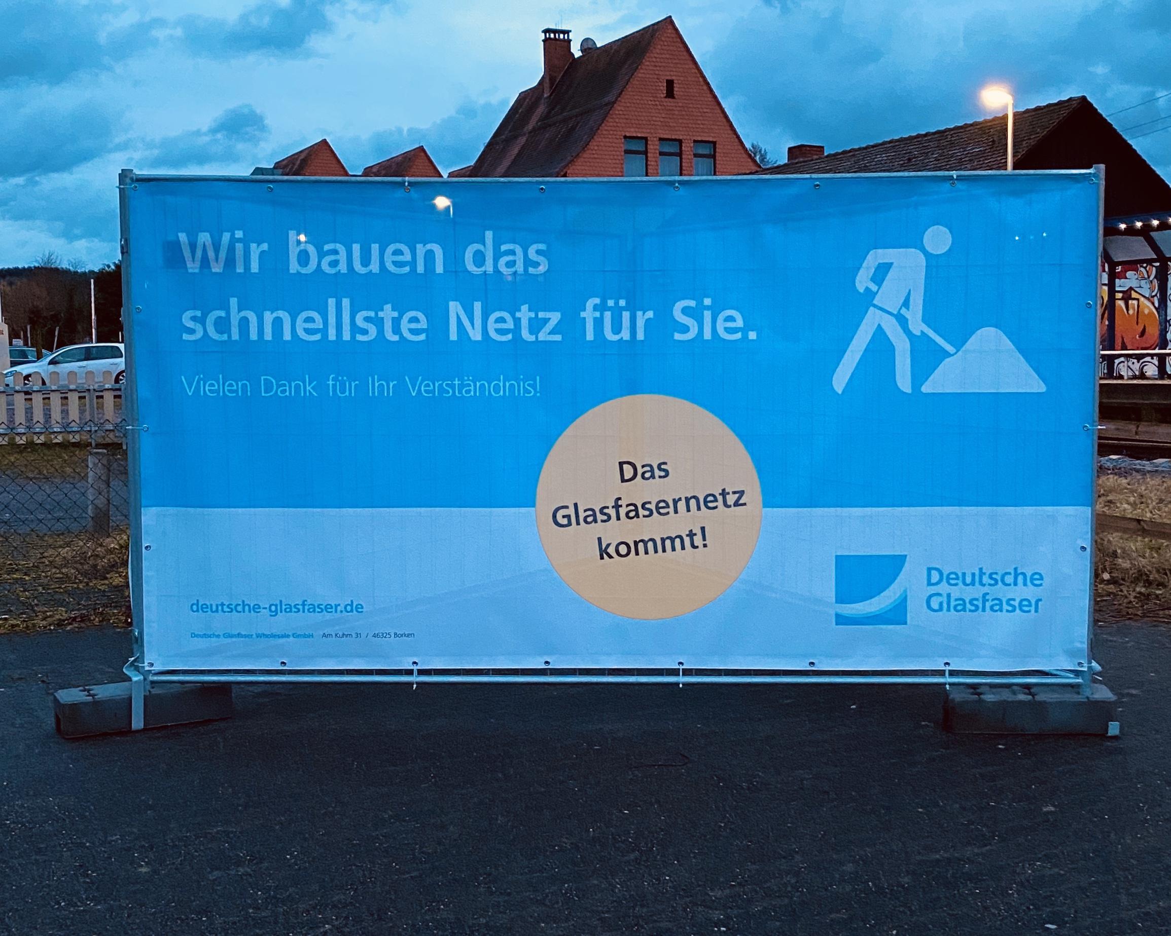 Deutsche Glasfaser Schließt Vorerst Baubüro In Mömbris