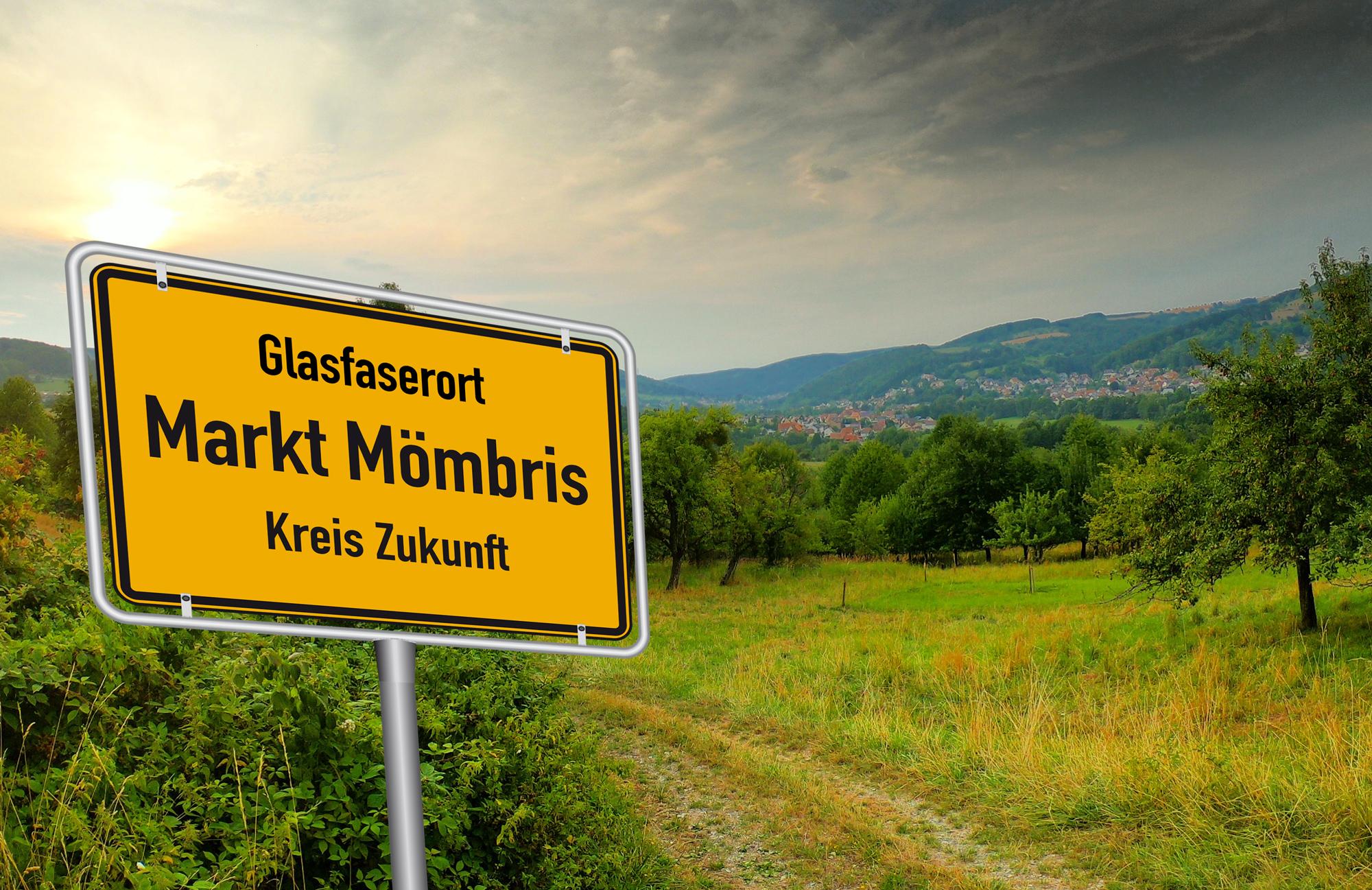 Willkommen im Glasfaser Ort Mömbris.